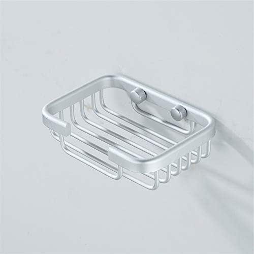 Stainless Steel Wall Mounted Shower Soap Holder Bathroom Storage Box Container Soap Dish Basket Tray Rack 1309040mm