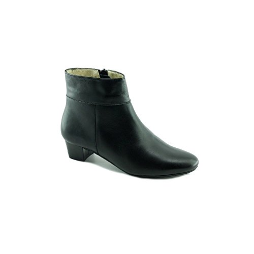 Escarpins d'Hotesses Tarmac Alarm Free Boots Noir Bout Rond en Amande - Petites et Grandes Pointures C-noir XkSfqZY