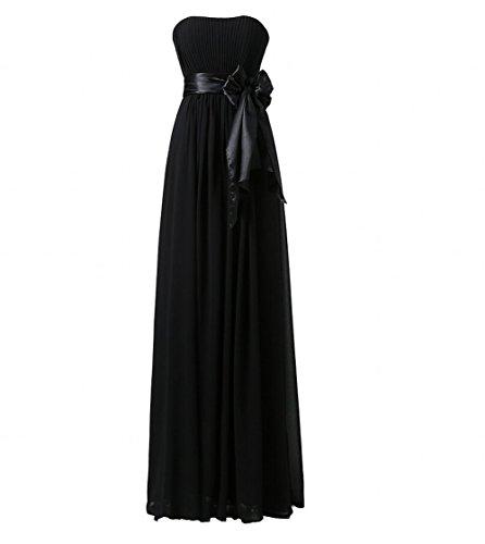 KA Beauty Mädchen Kleid Schwarz Pkk6SnwgwF