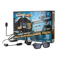 Spy Girl Super Secret Spy Gear - Spynet Video Watch 3 in 1 Surveillance Pack