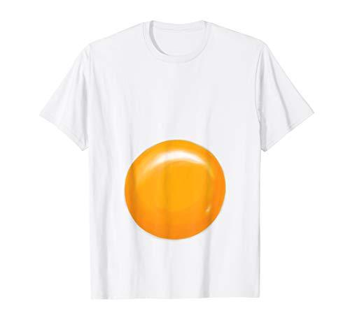 Fried Egg Halloween Costume Shirt - Egg Yolk ()
