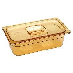 Hot Food Pans, 5 3/8Qt, 6 7/8W X 12 4/5D X 6H, Amber