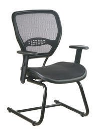 AirGrid Seat and Back Deluxe Visitors Chair NoPart: 5565
