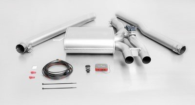 Remus 756015 397 Cat-Back Exhaust System - Remus Cat Back System