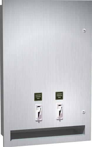 - ASI 04684-25 Recessed Sanitary Napkin and Tampon Vending Machine