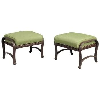 Perfect This Item Pembrey Patio Ottoman With Moss Cushion (2 Pack)