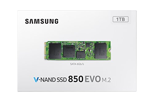 Samsung 850 EVO - 250GB - M.2 SATA III Internal SSD (MZ-N5E250BW) 5 500GB Capacity, M.2 Form Factor, SATA 6GB/s (Compatible with SATA 3GB/s and 1.5GB/s Designed to be used with Desktops, Laptops and Small Form Factor Machines. Random Write up to 40,000 (4KB, QD1) SSD Management with Magician Software. Kindy verify the compatibility of your model for best buy Random Write up to 88,000 IOPS (4KB QD32) Random Read up to 10,000 IOPS (4KB, QD1). Sequential Read up to 540 MB/s, Sequential Write up to 520 MB/s , Random Read 97,000 IOPS (4KB, QD32)