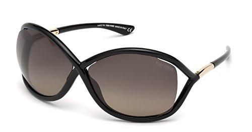 Tom Ford TF 9 Whitney 01D Black Women's Polarized - Tom Ford Whitney Sunglasses