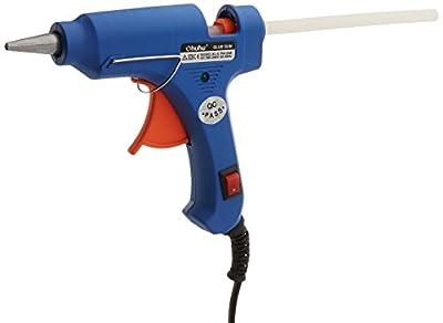 AKEfit Hot Glue Gun,High Temperature Melting Glue Gun Kit with 10pcs Glue Sticks, for Arts & Crafts Use,Christmas Decoration /Gifts, Sealing and Quick Repairs