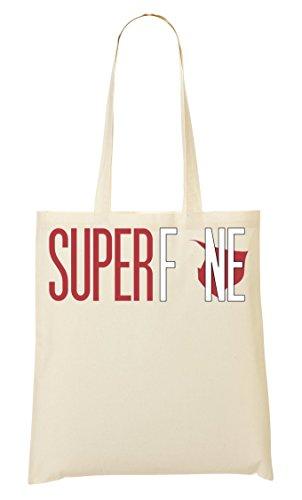 A Superfine Lo Shutup Mano Borsa Shopping fzxwEgqnF