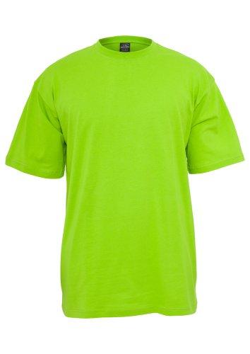 TB006 'Urban Classics' T-Shirt Tall Tee M-6XL (Various Colours), Größe:5XL;Farbe:limegreen