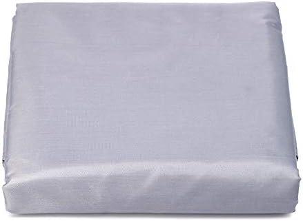 家具ダストカバー 雨やほこりから屋外のガーデンテラスの家具セットの防水および防塵テーブルと椅子カバー家具 幅広い用途 (色 : グレー, Size : 320x94cm)