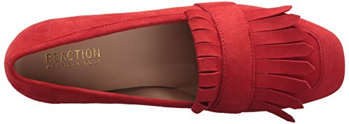 Kenneth Cole Reaction Mujer Michelle Kilty Toe Vestido Suede Pump Red