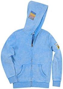 Zip up butter sweatshirt