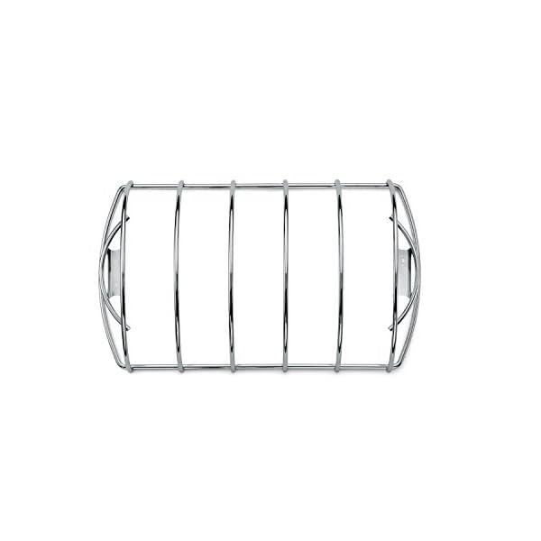 Weber 6605 - Supporto di Cottura per Costine, acciao 2 spesavip