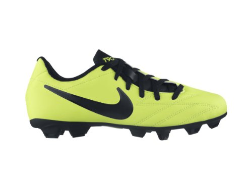 Nike Kinder Nocken - Fussballschuh JR T90 SHOOT IV FG gelb / schwarz volt/black-citron
