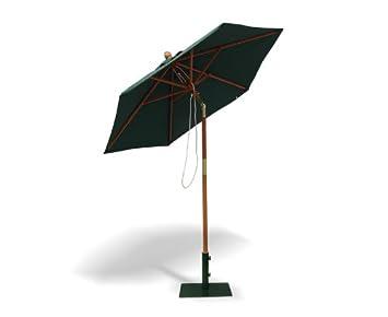 Raffles Outdoor Octagonal 2.0m Tilting Parasol For The Garden (Green)    Jati Brand