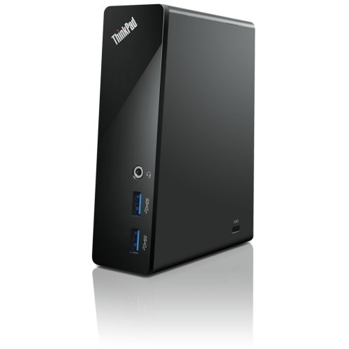 "Lenovo Group Limited - Lenovo Thinkpad Usb 3.0 Dock - Usb - 4 X Usb Ports - Network (Rj-45) - Vga ""Product Category: Accessories/Port Replicators"""