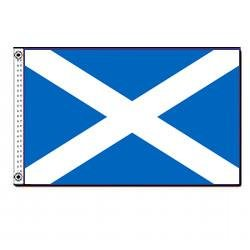 Scotland (St. Andrews Cross) flag (12 in. x 18 in.)