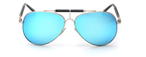 GAMT Vintage Mirrored Aviator Sunglasses Metal Frame Double Girder Style - Prescription Sunglasses Oakley Cheap