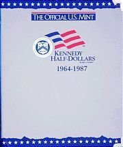 The Official U.S. Mint Kennedy Half Dollars Coin Album: 1964-1987 - Official Mint Coin