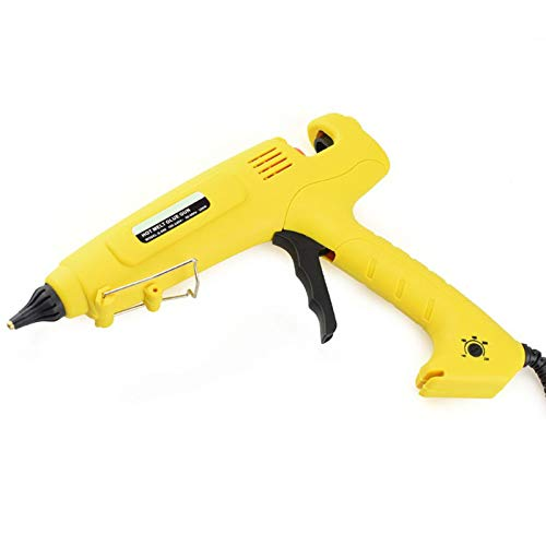 TOOGOO 300W Hot Melt Glue Tool Smart Temperature Control Copper Nozzle Heater Heating 110V Wax 11Mm Glue Stick Us Plug