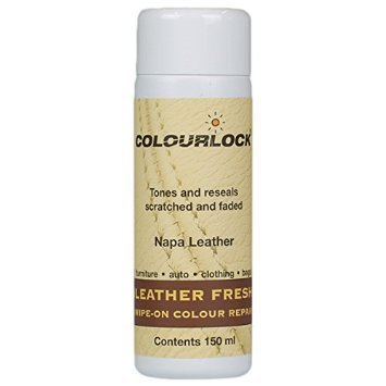 Full Color Dye (COLOURLOCK Leather Fresh dye for Porsche interiors to repair scuffs, colour damages, light scratches on side bolsters and car seats - 5fl oz)