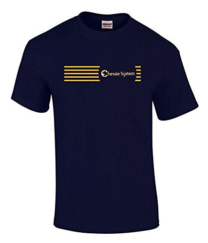 Chessie System - Chessie System Logo Tee Shirt Black Adult M [tee35]