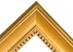 Classique 55 Solid Wood Art Picture Frame 16 x 20 Inch - Gold ()