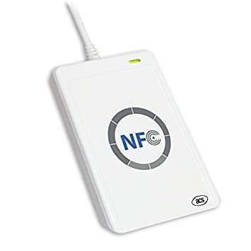 Amazon.com: jeerui ACS 13,56 MHz acr122 NFC RFID USB sin ...