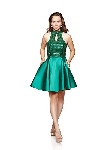 Jewel Neck Skirt Suit - 9