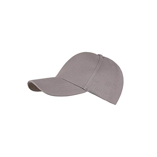 iCJJL Women's Ponytail Baseball Caps - Plain Snapback Low Profile Camo Trucker Hats Ponycap Golf Sun Hat ()