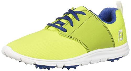 FootJoy Women's Enjoy-Previous Season Style Golf Shoes Green 7 M, Lime, US