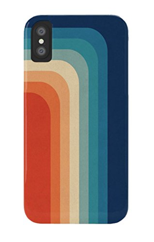 CODUPH Phonecase Retro 70S Color Palette Iii Slim Fit PhoneCase for iPhone XR