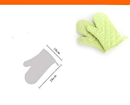 Ruikey Gants de Cuisine Anti Chaleur en Coton pour Cuisine//grillades