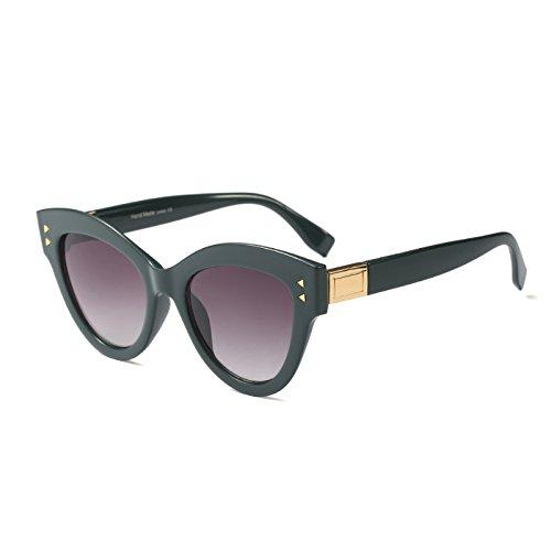 Katzenaugen Frauen Schwarz Weiß Retro Gradienten C2 Sonnenbrille Designer Marke Rot Sonnenbrille C2 Sobredimensionado KLXEB p5qwHtx