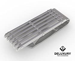 Money Clip - Premium Men's Accessory: Silver Stainless Steel, Slim, Spring Loaded