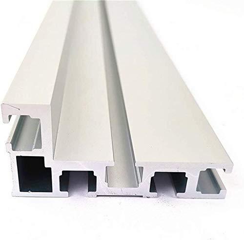 T-Tracks T-Slot Mitre Track T-Track T-Slot Mitre Jig Tools Aluminio Carpintería Backer Table Saw For Workbench 75mm…