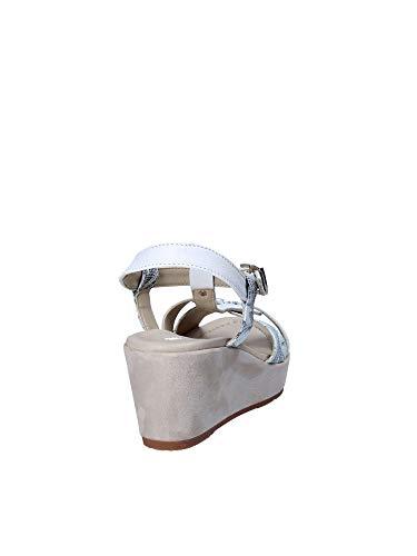 32208 Zeppa Sandalo Bianco Donna Valleverde vT6qa