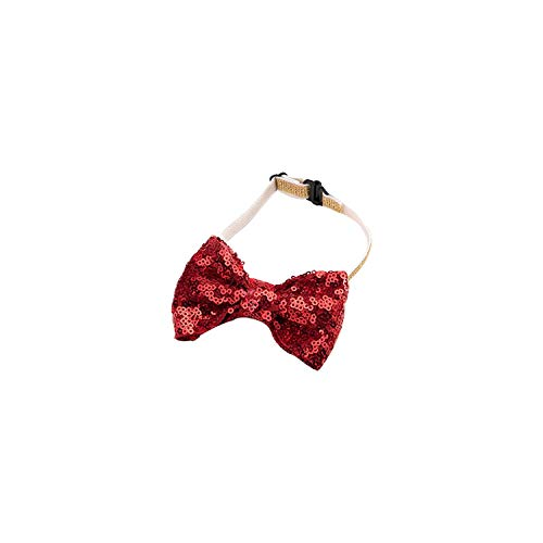 (Pet Dog Cat Birthday Party Hat Bowknot Cosplay Cute Bow Tie Headwear Sequin Design Cap Pets Accessories Christmas Santa Hats,B.1)