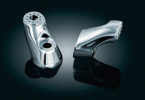 Kuryakyn 4071 Motorcycle Foot Control Component: Mini Arms for Ergo II Cruise Mounts, Chrome, 1 Pair