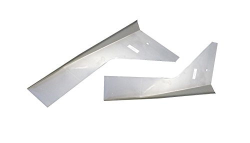(Motor City Sheet Metal - Works With 1966 1967 1968 1969 1970 1971 1972-1977 BRONCO FRONT INNER FENDER APRONS)