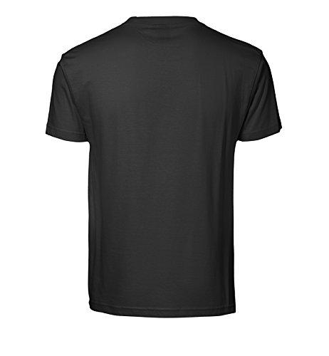 Bedrucktes Herren Streetwear T-Shirt mit Motiv Black Panther