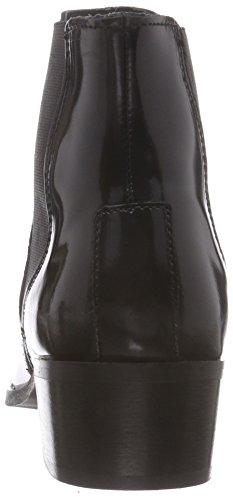 Polido Sfelena Boot black Selected Femme Noir Bottes F Chelsea qEPnUO