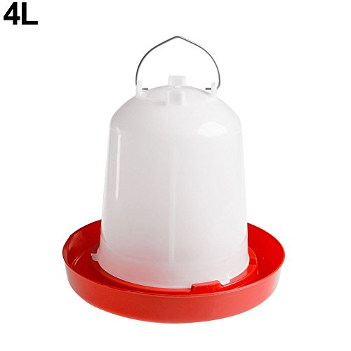 Quietcloud 1Pc Chicken Feeder Drinker Poultry Food for sale  Delivered anywhere in Canada