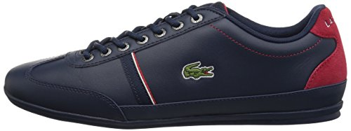 Lacoste Men's Misano Sport 118 1 Sneaker, Nvy/Red, 12 M US by Lacoste (Image #5)