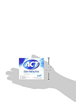 ACT Total Care Soothing Mint Dry Mouth 18 Lozenges