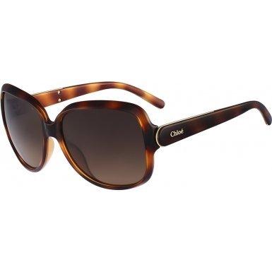 Chloe CE655S 214 Light Havana CE655S Butterfly Sunglasses Lens Category - Chloe Eyewear 2014