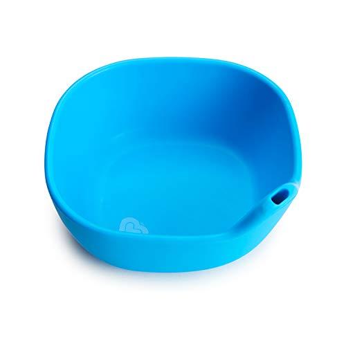Tigela de Silicone Azul, Munchkin, Azul