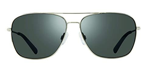 Revo Polarized Sunglasses Harbor Navigator Frame 60 mm, Chrome Frame, Graphite (Glass Harbor)